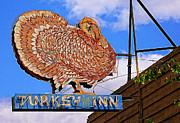 Turkey Inn Print by Ron Regalado