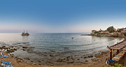 Lounger Prints - Turkey side panorama Print by Antony McAulay