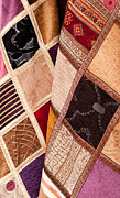 Colorful Quilts Posters - Turkish Textiles 05 Poster by Rick Piper Photography