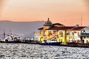 Mark Alexander Photography Pyrography - Turkish Water Police Station by Mark Alexander