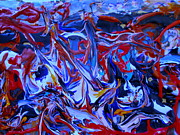 Just Abstracts - Turmoil  by Allen n Lehman