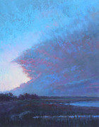 Evening Sky Pastels - Turn to Blue by Ed Chesnovitch