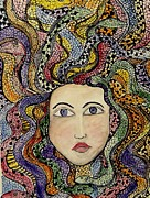 Medusa Prints - Turn To Stone Print by Lisa Aerts