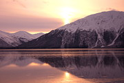 Turnagain Arm Morning Print by Crystal Magee