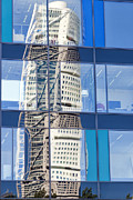 Monolith Posters - Turning Torso Reflection Poster by Antony McAulay