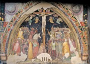 Crucifixion Photos - Turone, The Crucifixion, 14th Century by Everett