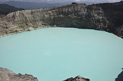 Tiwu Nua Muri Koo Fai Prints - Turquoise Crater Lake Of Kelimutu Print by Richard Roscoe