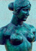 Kathleen K Parker - Turquoise Maiden - Digital Art