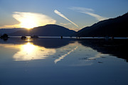Saltspring Photo Originals - Turquoise night by Graham Foulkes