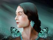 Woman - Turquoise  Poetry by Susi Galloway