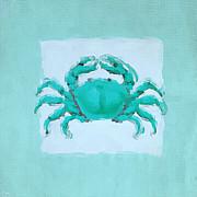 Turquoise Seashells I Print by Lourry Legarde