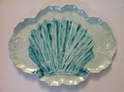 Shell Ceramics - Turquoise Shell by Mona Hugghins