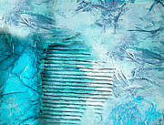 Painted Paintings - Turquoise by Viaina