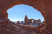 Adam Jewell - Turret Arch In Winter