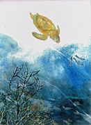 Nancy Gorr - Turtle And Sea Fans