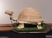 Layers Sculpturing Sculptures - Turtle by Motti Inbar