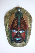 Assemblage Sculpture Originals - TurtleManiac by Douglas Fromm