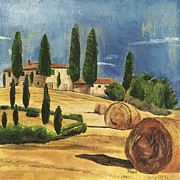 Cypress Prints - Tuscan Dream 2 Print by Debbie DeWitt