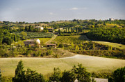 Tuscan Hills Photos - Tuscan Landscape by Jim  Calarese