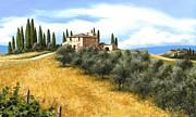 Tuscan Sentinels Print by Michael Swanson