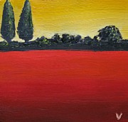 Reprint Art - Tuscan Sunrise by Venus