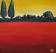 Tuscan Sunrise Print by Venus