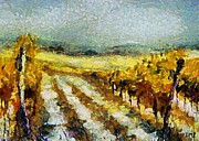 Tuscan Vineyard Print by Dragica  Micki Fortuna