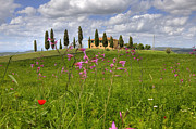 Farm House Photos - Tuscany - Pienza by Joana Kruse