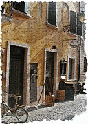Post Card Prints - Tuscany 2 Print by Rebecca Cozart