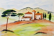 Christine Huwer - Tuscany-again and again