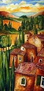Chianti Framed Prints - Tuscany for ever Framed Print by Roberto Gagliardi