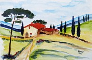 Christine Huwer - Tuscany- Harmony