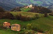 Tuscany Landscape 3 Print by Bob Christopher