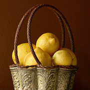 Lemon Art Photo Posters - Tuscany Lemons Poster by Art Block Collections