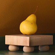 Pear Art Posters - Tuscany Pear Poster by Art Block Collections