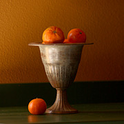Tangerines Photos - Tuscany Tangerines by Art Block Collections