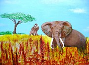True Vine Gallery-- Donna E Dixon - Tusks2