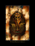 Tut Mixed Media - Tutankhamens Vision by Skye Ryan-Evans