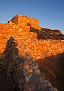 Tuzigoot Dawn Print by Mike  Dawson