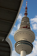 Tower Pyrography - TV Tower Hamburg by Jannis Werner