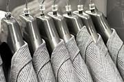 Tweed Suit Jackets Print by Tom Gowanlock