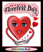 Sweetest Day Prints - Tweetest Day Print by Glenn Holbrook