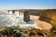 Tim Hester Prints - Twelve Apostles Print by Tim Hester