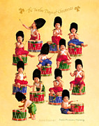 Twelve Drummers Drumming Print by Anne Geddes