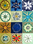 Assorted Originals - Twelve Mandalas For March by Pam Fingado