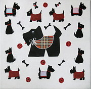 Susan McLean Gray - Twelve Scotties