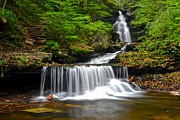 Waterfalls Prints - Twenty Bucks Any Size Print by Robert Harmon