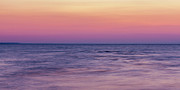 Ocean Panorama Metal Prints - Twilight - Panorama Metal Print by Matt Dobson