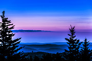 Summer Digital Art - Twilight along the Highland Scenic Highway by Thomas R Fletcher