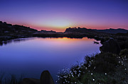 Martin Hollingworth - Twilight at Doxey Pool
